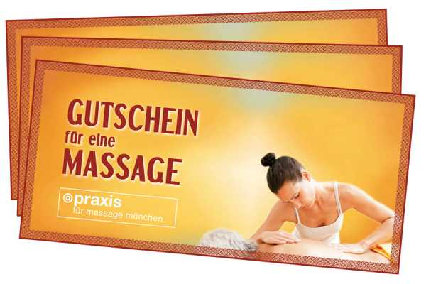 Massage Gutschein München
